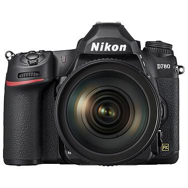 "Nikon D780 + 24-120mm f/4G ED VR Réflex plein format 24.5 MP - ISO 51200 - Double système AF - Vidéo 4K UHD - Ecran LCD tactile/inclinable 3.2"" - Wi-Fi/Bluetooth + Objectif AF-S NIKKOR 24-120mm f/4G ED VR"