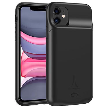 Akashi Coque Batterie Sans Fil Noire iPhone 11 Coque batterie à induction 4500 mAh pour iPhone 11