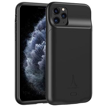 Akashi Coque Batterie Sans Fil Noire iPhone 11 Pro Coque batterie à induction 3500 mAh pour iPhone 11 Pro