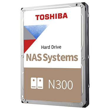 "Toshiba N300 12 To Disque dur 3.5"" 12 To 7200 RPM 256 Mo Serial ATA III pour NAS"