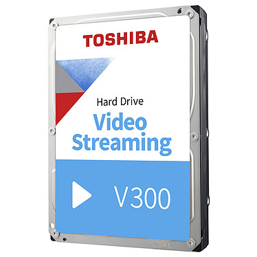 "Toshiba V300 3 To Disque dur 3.5"" 3 To 5940 RPM 64 Mo Serial ATA III pour Streaming"