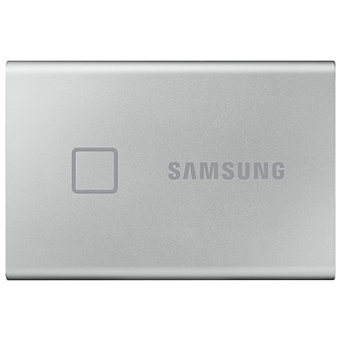 Samsung Portable SSD T7 Touch 500 Go Argent