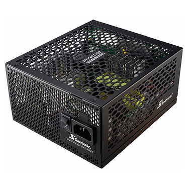 Seasonic PRIME Titanium Fanless 600W Alimentation Fanless 100% modulaire 600W ATX/EPS 12V - 80PLUS Titanium