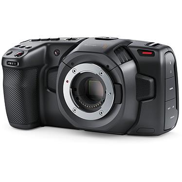 "Blackmagic Design Pocket Cinema Camera 4K Caméra professionnelle 4K Ultra HD - Capteur 4/3 grand format - Double microphone - Ecran tactile LCD 5"" - Bluetooth - HDMI/USB-C/Mini XLR"