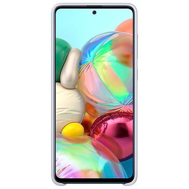Acheter Samsung Coque Silicone Argent Galaxy A71