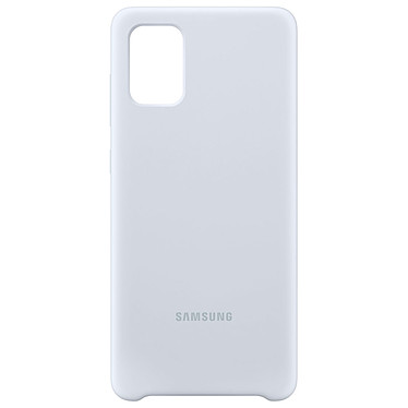 Avis Samsung Coque Silicone Argent Galaxy A71