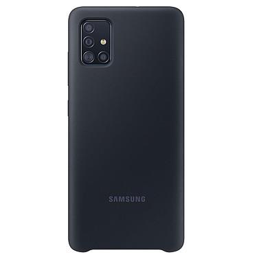 Samsung Coque Silicone Noir Galaxy A51 Coque en silicone pour Samsung Galaxy A51