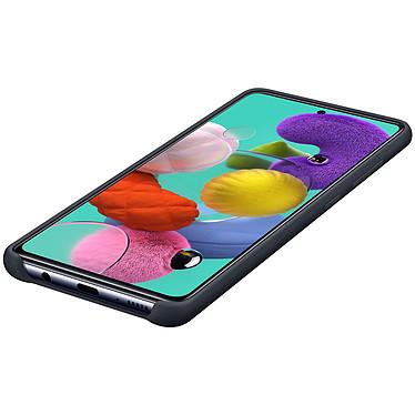 Samsung Coque Silicone Noir Galaxy A51 pas cher