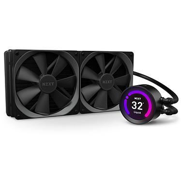 """NZXT Kraken Z63 Kit de Watercooling tout-en-un 280 mm pour processeur avec écran LCD 2.36"""""""