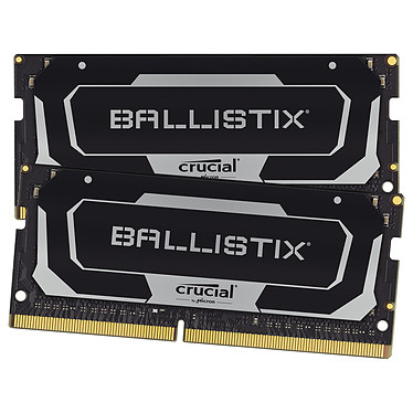 Ballistix SO-DIMM DDR4 32 Go (2 x 16 Go) 3200 MHz CL16 Kit Dual Channel RAM DDR4 PC4-25600 - BL2K16G32C16S4B