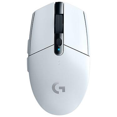 Logitech G305 Lightspeed Wireless Gaming Mouse Blanc Souris sans fil pour gamer - droitier - capteur optique 12000 dpi - 6 boutons programmables - technologie sans fil Lightspeed