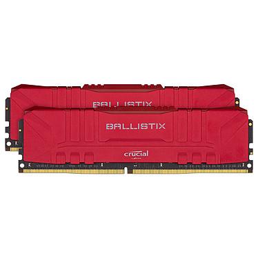 Ballistix Red 16 Go (2 x 8 Go) DDR4 2666 MHz CL16 Kit Dual Channel RAM DDR4 PC4-21300 - BL2K8G26C16U4R