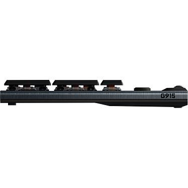 Logitech G915 Lightspeed Carbone (Tactile Version) pas cher