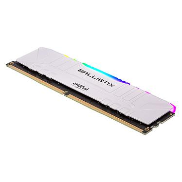 Acheter Ballistix White RGB DDR4 16 Go (2 x 8 Go) 3000 MHz CL15