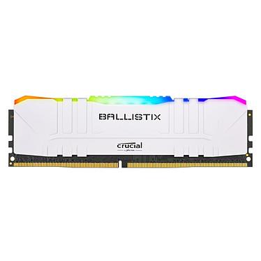 Avis Ballistix White RGB DDR4 16 Go (2 x 8 Go) 3000 MHz CL15