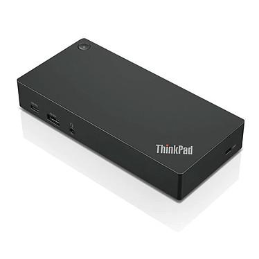 Lenovo ThinkPad USB-C Dock Gen2 Réplicateur de ports pour ordinateur portable (2x DisplayPort / 1x HDMI / 1x USB 3.1 Type C / 3x USB 3.0 / 2x USB 2.0 / Audio)