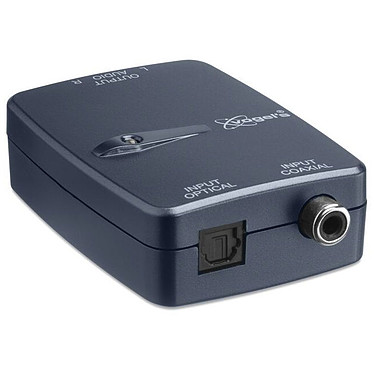 Vogel's SAVA 1041 Adaptateur AV Smart D/A Convertisseur audio numérique (coaxiale/toslink) vers analogique (RCA)