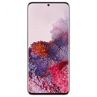 "Samsung Galaxy S20 5G SM-G981B Rose (12 Go / 128 Go) Smartphone 5G-LTE Dual SIM IP68 - Exynos 990 - RAM 12 Go - Ecran tactile AMOLED 120 Hz 6.2"" 1440 x 3200 - 128 Go - NFC/Bluetooth 5.0 - 4000 mAh - Android 10"