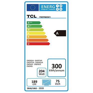 TCL 75EP663 pas cher