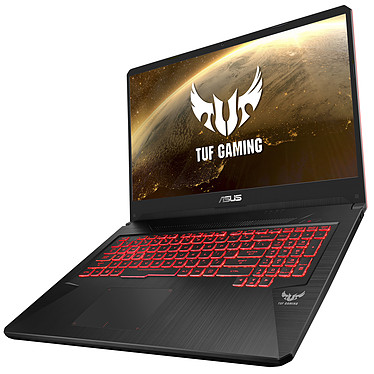 "ASUS TUF705DT-AU042T AMD Ryzen 5 3550H 8 Go SSD 512 Go 17.3"" LED Full HD NVIDIA GeForce GTX 1650 4 Go Wi-Fi AC/Bluetooth Webcam Windows 10 Famille 64 bits"