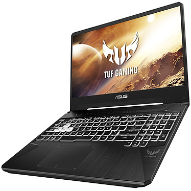 "ASUS TUF505DU-AL029T AMD Ryzen 7 3750H 16 Go SSD 512 Go 15.6"" LED Full HD 120 Hz NVIDIA GeForce GTX 1660 Ti 6 Go Wi-Fi AC/Bluetooth Webcam Windows 10 Famille 64 bits"