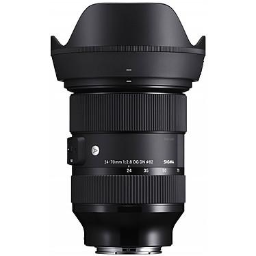 SIGMA 24-70mm f/2.8 DG DN ART monture Sony E Objectif zoom standard pour hybride plein format Sony