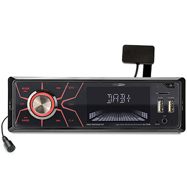 Caliber RMD060DAB-BT Autoradio 4 x 75 Watts - Tuner FM/DAB+ - Bluetooth - USB/SD/AUX - Télécommande