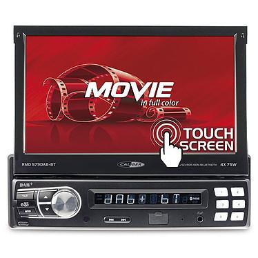"Caliber RMD579DAB-BT Autoradio numérique 1DIN - Tuner FM/DAB+/RDS - Bluetooth - Ecran tactile motorisé 7"" - USB/SD/AUX"
