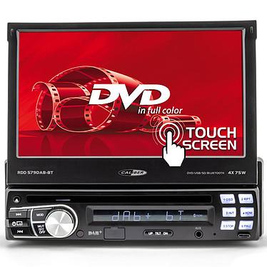 """Caliber RDD579DAB-BT Autoradio numérique 1DIN - Lecteur CD/DVD - Tuner FM/DAB+/RDS - Bluetooth - Ecran tactile motorisé 7"""" - USB/SD/AUX"""