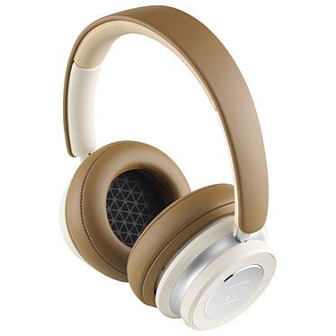 DALI IO-6 Caramel White Casque circum-aural fermé sans fil - Réduction de bruit active - Bluetooth 5.0 - Autonomie 30h - Commandes/Micro - Pliable - IP53