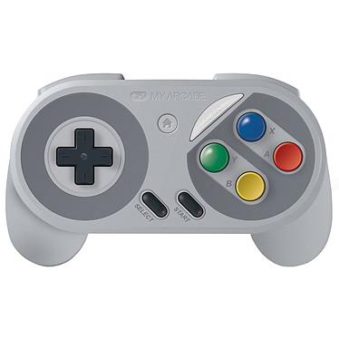 My Arcade Super Gamepad (Famicom Edition) Manette sans fil pour Nintendo SNES Classic, NES Classic, Wii, Wii U
