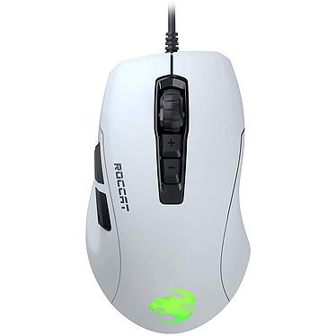 ROCCAT Kone Pure Ultra Blanc Souris filaire pour gamer - droitier - capteur optique 16000 dpi - 7 boutons programmables - rétro-éclairage RGB
