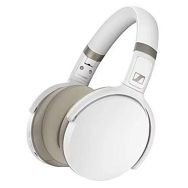 Sennheiser HD 450BT Blanc Casque circum-aural sans fil - Bluetooth 5.0 aptX - Réduction de bruit active - Autonomie 30h - Commandes/Micro - Pliable