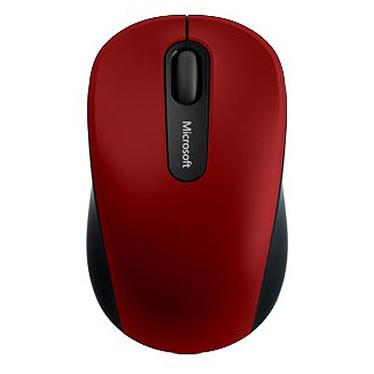 Microsoft Bluetooth Mobile Mouse 3600 Rouge Souris sans fil - ambidextre - capteur optique 1000 dpi - 3 boutons