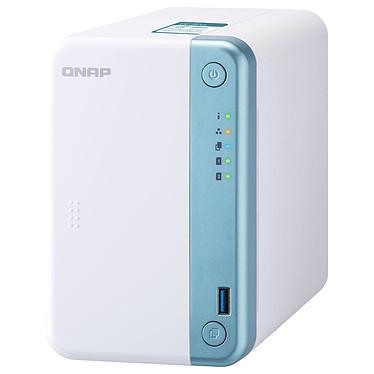 QNAP TS-251D-4G Serveur NAS 2 baies avec 4 Go de RAM avec processeur Dual-Core Intel Celeron J4005 2.0 GHz (sans disque dur)