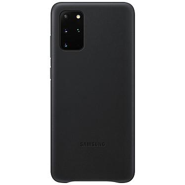 Samsung Coque Cuir Noir Samsung Galaxy S20+ Coque en cuir véritable pour Samsung Galaxy S20+