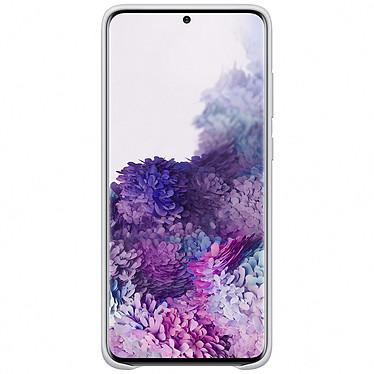 Avis Samsung Coque Cuir Gris Clair Samsung Galaxy S20+