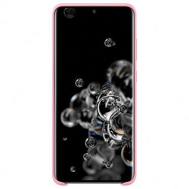 Avis Samsung Coque Silicone Rose Galaxy S20 Ultra