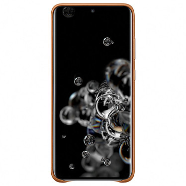 Avis Samsung Coque Cuir Marron Samsung Galaxy S20 Ultra