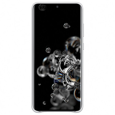 Acheter Samsung Coque Cuir Gris Clair Samsung Galaxy S20 Ultra