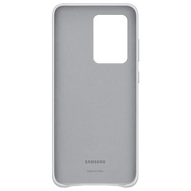 Avis Samsung Coque Cuir Gris Clair Samsung Galaxy S20 Ultra