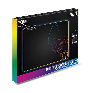 Spirit of Gamer Skull RGB Gaming Mouse Pad M pas cher