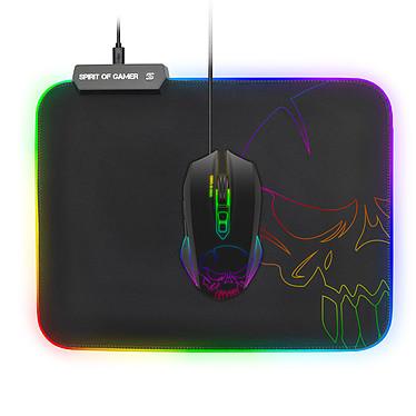 Avis Spirit of Gamer Skull RGB Gaming Mouse Pad M