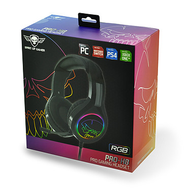 Spirit of Gamer Pro-H8 RGB a bajo precio