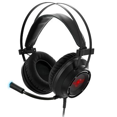 Spirit of Gamer Elite-H70 Casque-micro circum-aural ultra design avec son virtual 7.1 surround et rétro-éclairage 7 couleurs pour gamer (PS4 / PC)