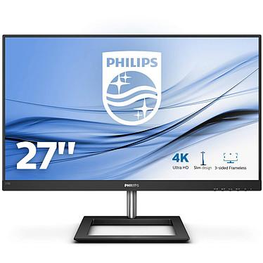 """Philips 27"""" LED - 278E1A 3840 x 2160 pixels - 4 ms (gris à gris) - Format large 16/9 - Dalle IPS - HDMI/DisplayPort - HP intégrés - Noir"""