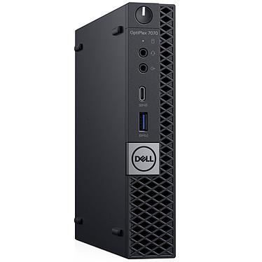 Dell OptiPlex 7070 MFF (F0JH7) Intel Core i7-9700T 8 Go SSD 256 Go Windows 10 Professionnel 64 bits (sans écran)