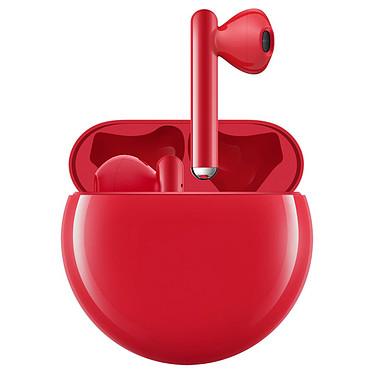 Huawei FreeBuds 3 Rouge Écouteurs intra-auriculaires sans fil Bluetooth 5.1 avec micro intégré et boîtier de charge/transport
