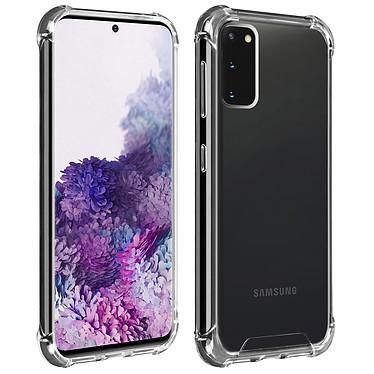 Akashi Coque TPU Angles Renforcés Samsung Galaxy S20 Coque de protection transparente avec angles renforcés pour Samsung Galaxy S20