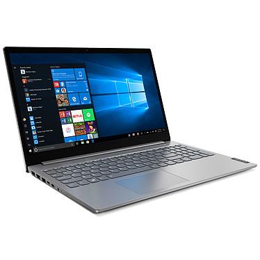 "Lenovo ThinkBook 15-IIL (20SM002LFR) Intel Core i3-1005G1 8 Go SSD 256 Go 15.6"" LED Full HD Wi-Fi AX/Bluetooth Webcam Windows 10 Professionnel 64 bits"